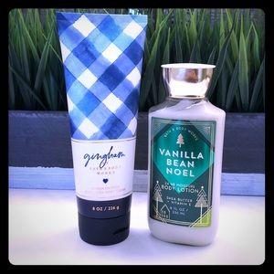 Bath & Body Works lotion bundle
